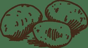 Kartoffeln-Strichz